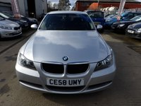 USED 2008 58 BMW 3 SERIES 2.0 318I EDITION SE 4d 141 BHP NEW MOT, SERVICE & WARRANTY