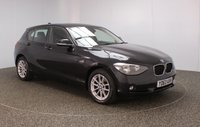 USED 2013 63 BMW 1 SERIES 2.0 118D SE 5DR 141 BHP BMW SERVICE HISTORY + £20 12 MONTHS ROAD TAX + PARKING SENSOR + BLUETOOTH + CRUISE CONTROL + AIR CONDITIONING + MULTI FUNCTION WHEEL + DAB RADIO + ELECTRIC WINDOWS + ELECTRIC MIRRORS + 16 INCH ALLOY WHEELS