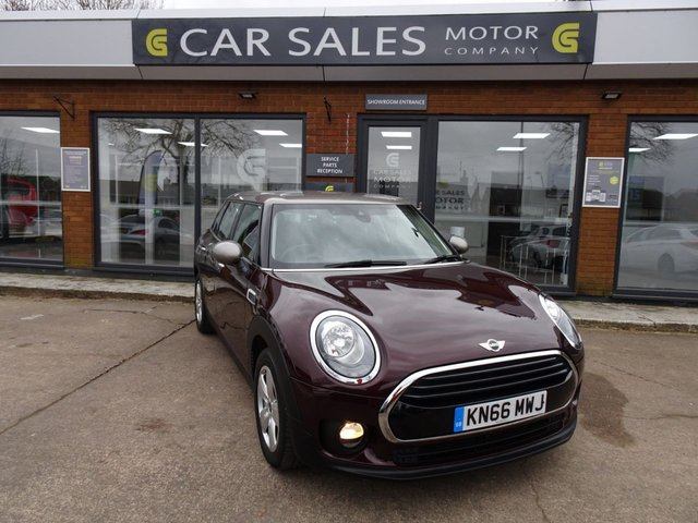 USED 2016 66 MINI CLUBMAN 1.5 COOPER 5d 134 BHP £30 ROAD TAX FOR THE YEAR, 1 OWNER, SUPER LOW MILEAGE, SAT NAV, DAB RADIO, BLUETOOTH, HPI CLEAR, READ OUR 5 STAR REVIEWS ON AUTOTRADER!