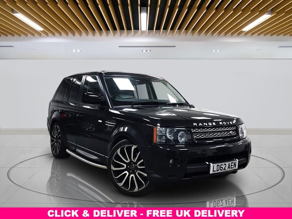 """USED 2012 62 LAND ROVER RANGE ROVER SPORT 3.0 SD V6 HSE (Luxury Pack) 4X4 5dr Navigation Media, Navigation System, Leather Trim, 21"""" OVERFINCH Alloy Wheels, Reversing - Camera, Privacy Glass"""