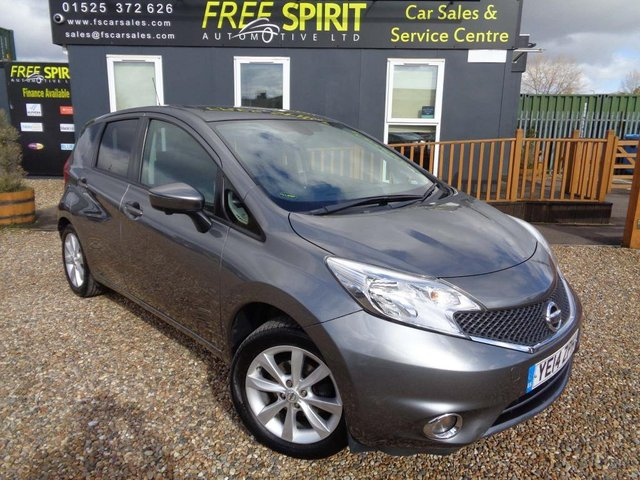 USED 2014 14 NISSAN NOTE 1.2 DIG-S Tekna 5dr Nav, Rear Cam, Bluetooth