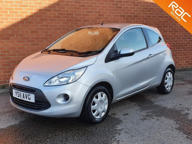 2011 11 FORD KA 1.2 EDGE 3d 69 BHP AIR CON