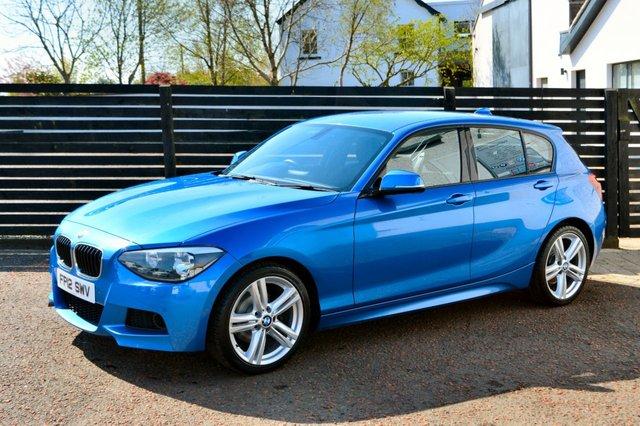2012 04 BMW 1 SERIES 2.0 120D M SPORT 5d 181 BHP