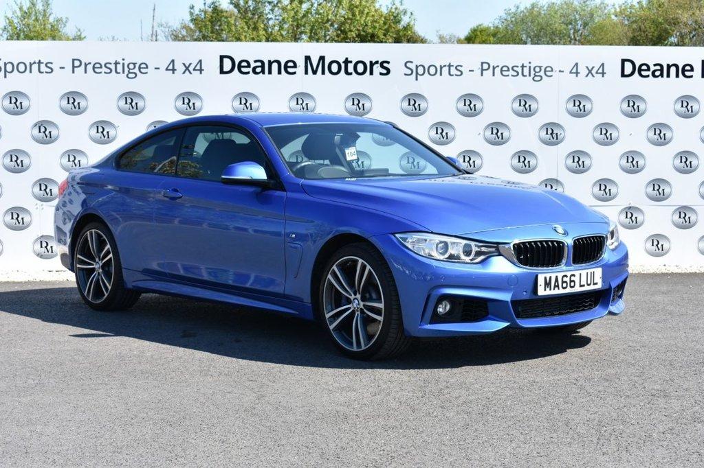 USED 2016 66 BMW 4 SERIES 3.0 435D XDRIVE M SPORT 2d 309 BHP M SPORT PLUS PACK