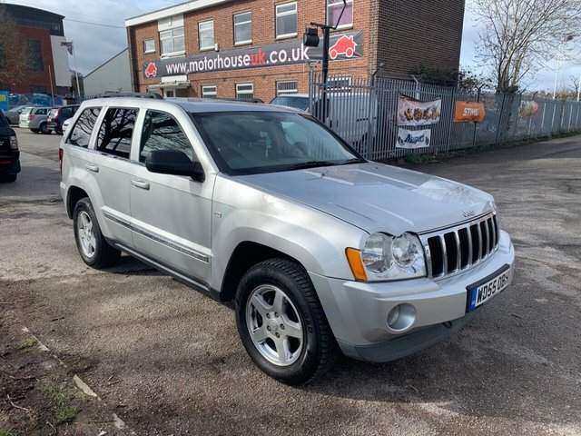 USED 2006 08 JEEP GRAND CHEROKEE 3.0 V6 CRD LIMITED 5d 215 BHP DIESEL 4 X 4