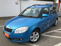 USED 2007 07 SKODA ROOMSTER 1.6 2 16V 5d 103 BHP HIGH DRIVING POSITION