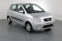 USED 2010 10 KIA PICANTO 1.0 1 5d 61 BHP 3 OWNERS with 4 Stamp SERVICE HISTORY