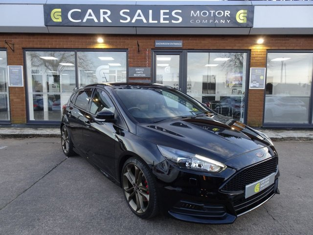 USED 2016 16 FORD FOCUS 2.0 ST-3 5d 247 BHP RACING BRONZE ALLOY WHEELS, GHOST II IMMOBILISER, SAT NAV, REVERSE PARKING CAMERA, HEATED SEATS, FULLY LOADED ST-3!