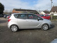 USED 2011 11 VAUXHALL MERIVA 1.4 EXCLUSIV 5d 138 BHP LOW MILES FOUR NEW TYRES SUPERB ORDER