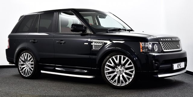 USED 2011 61 LAND ROVER RANGE ROVER SPORT 3.0 SD V6 Autobiography Sport 4X4 5dr Auto [8] F/S/H (8 Stamps), Great Spec +
