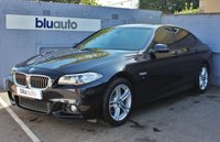 USED 2013 63 BMW 520 D 2.0 M SPORT 4d 181 BHP 2 Owners, BMW Servicing, Low Mileage, Over £1000 Extras