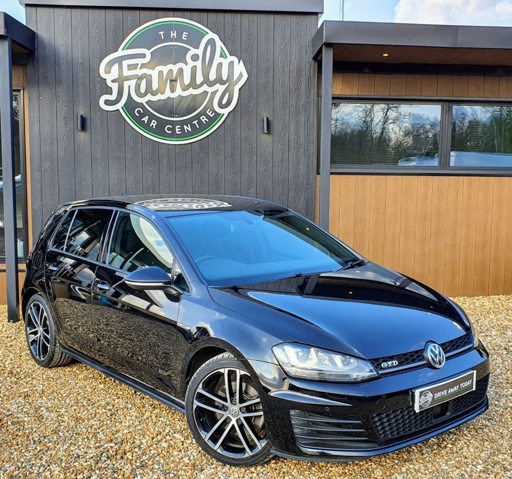 USED 2016 16 VOLKSWAGEN GOLF 2.0 GTD 5d 181 BHP FANTASTIC CONDITION WITH F/S/H