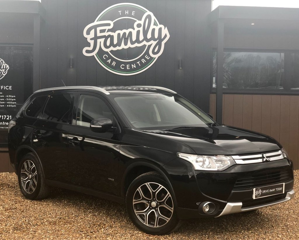 USED 2014 64 MITSUBISHI OUTLANDER 2.3 DI-D GX 3 5d 147 BHP FULL LEATHER & FULL HISTORY