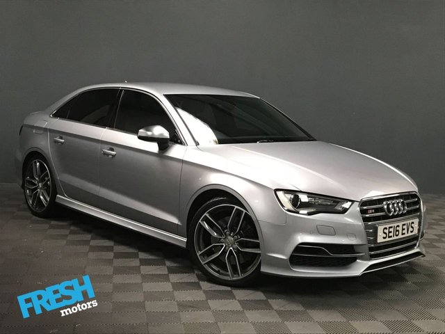USED 2016 16 AUDI A3 2.0 S3 QUATTRO NAV 4d AUTO * 0% Deposit Finance Available