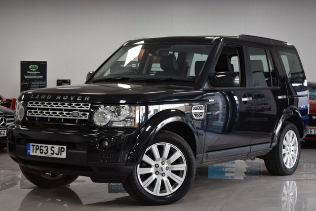 USED 2013 63 LAND ROVER DISCOVERY 3.0L 4 SDV6 XS 5d AUTO 255 BHP STUNNING DISCOVERY WITH FSH + £1500 EXTRAS!
