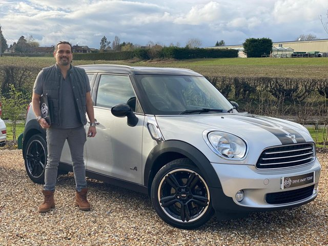 2012 12 MINI COUNTRYMAN 2.0 COOPER D ALL4 5d 110 BHP