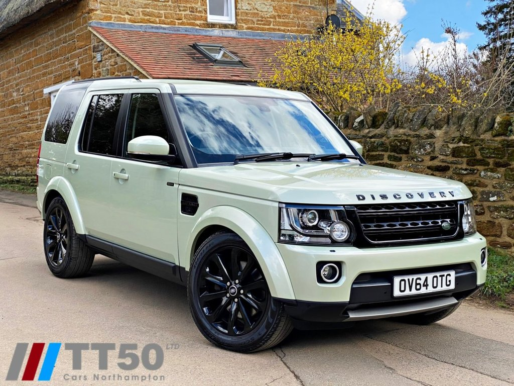 USED 2014 64 LAND ROVER DISCOVERY 3.0 SDV6 HSE 5d 255 BHP JUST SERVICED !!  P/X WELCOME, CHABLIS GREEN METALLIC, BLACK PACK