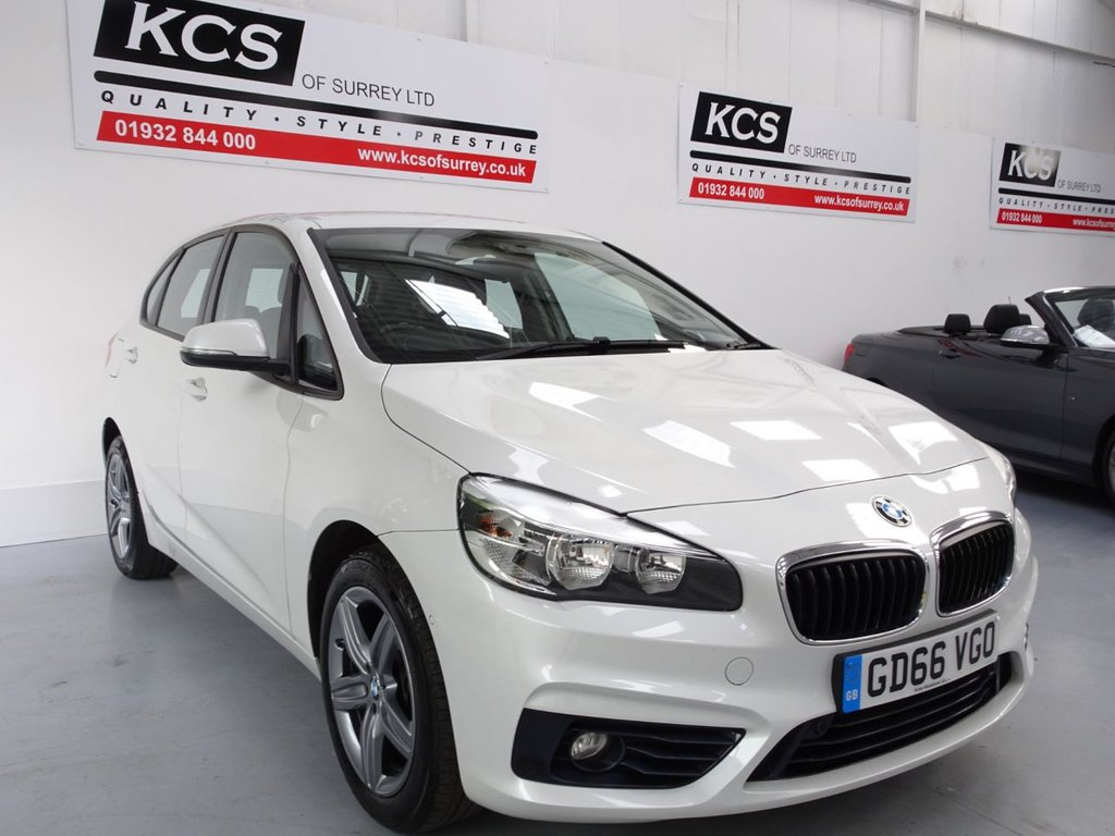 USED 2016 66 BMW 2 SERIES 1.5 216D SPORT ACTIVE TOURER 5d 114 BHP SAT NAV / BLUETOOTH