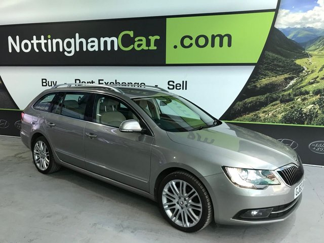 USED 2013 63 SKODA SUPERB 2.0 ELEGANCE TDI CR DSG 5d 168 BHP
