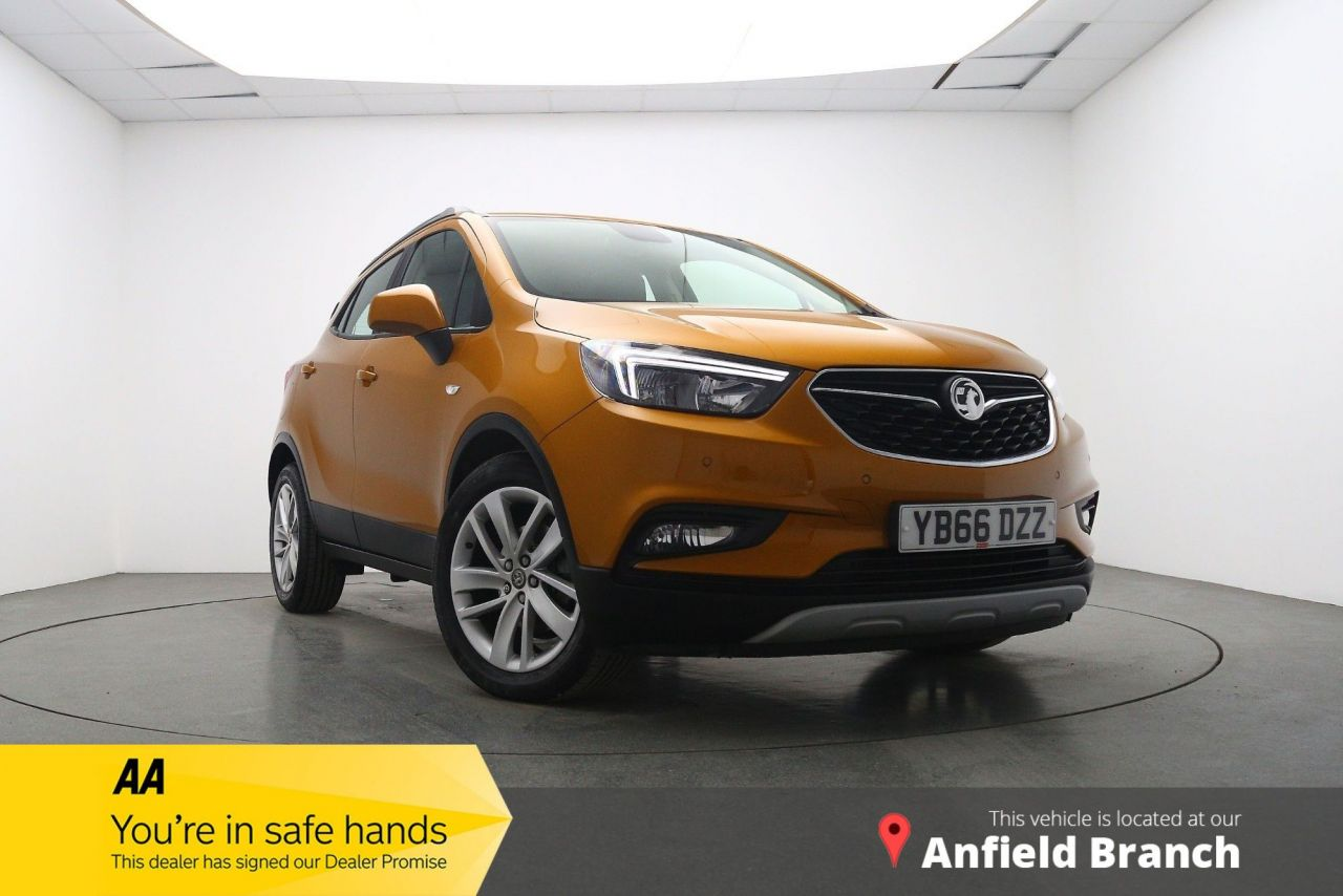 USED 2017 66 VAUXHALL MOKKA X 1.4 ACTIVE S/S 5d 138 BHP FREE NATIONWIDE DELIVERY