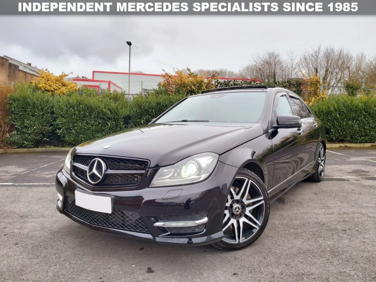 Mercedes Benz C Class C350 Cdi Blueefficiency Amg Sport Plus