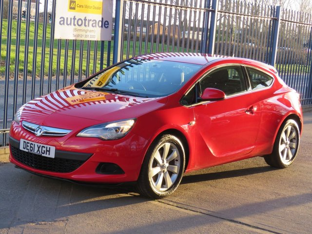 USED 2011 61 VAUXHALL ASTRA 1.4 GTC SPORT S/S 3dr Coupe Ulez Compliant Finance arranged Part exchange available Open 7 days