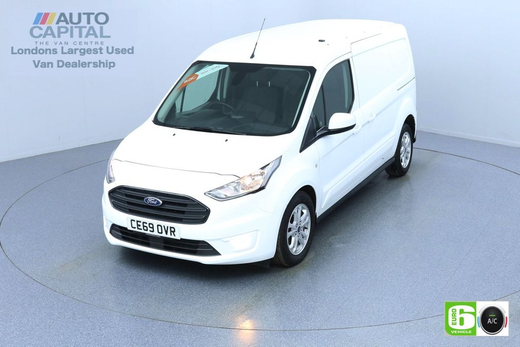 USED 2019 69 FORD TRANSIT CONNECT 1.5 240 Limited 120 BHP Auto L2 LWB 3 Seats Euro 6 Low Emission Finance Packages Available   Keyless   Air Con   R. Sensors   Alloy Wheels