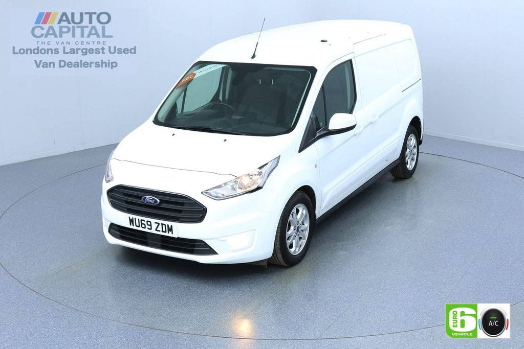 USED 2019 69 FORD TRANSIT CONNECT 1.5 240 LIMITED TDCI 120 BHP L2 LWB AUTO 3 SEATS EURO 6  KEYLESS | AIR CON | PARKING SENSORS | ALLOY WHEELS