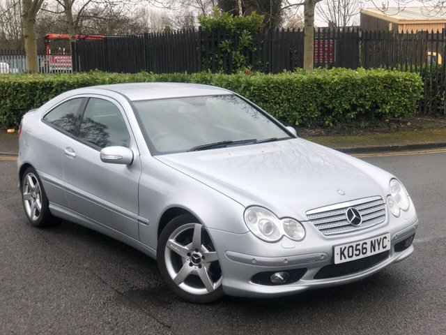 2006 56 MERCEDES-BENZ C CLASS 1.8 C180 KOMPRESSOR EVOLUTION S SPECIAL 3d 141 BHP
