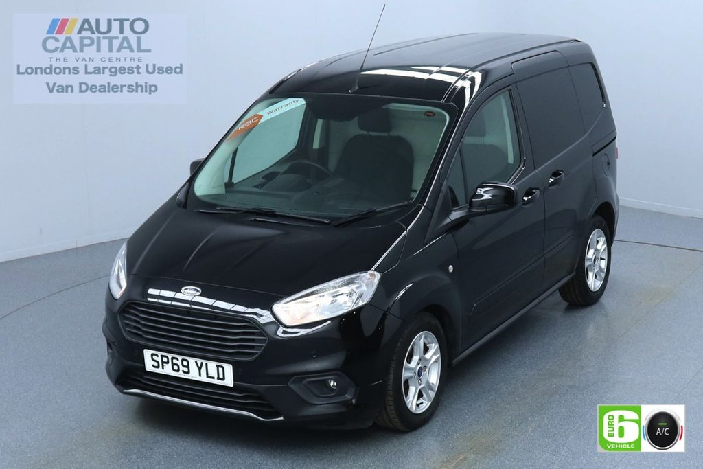 USED 2019 69 FORD TRANSIT COURIER 1.5 LIMITED TDCI 100 BHP L1 SWB EURO 6 ENGINE AIR CON | REVERSE CAMERA | F-R SENSORS | ALLOY WHEELS