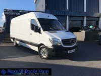 USED 2015 65 MERCEDES-BENZ SPRINTER 2.1 313 CDI LWB 129 BHP