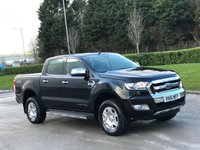 2016 FORD RANGER 2.2 LIMITED 4X4 DCB TDCI 4d 158 BHP SOLD