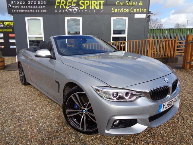 USED 2017 66 BMW 4 SERIES 2.0 420i M Sport 2dr SOLD
