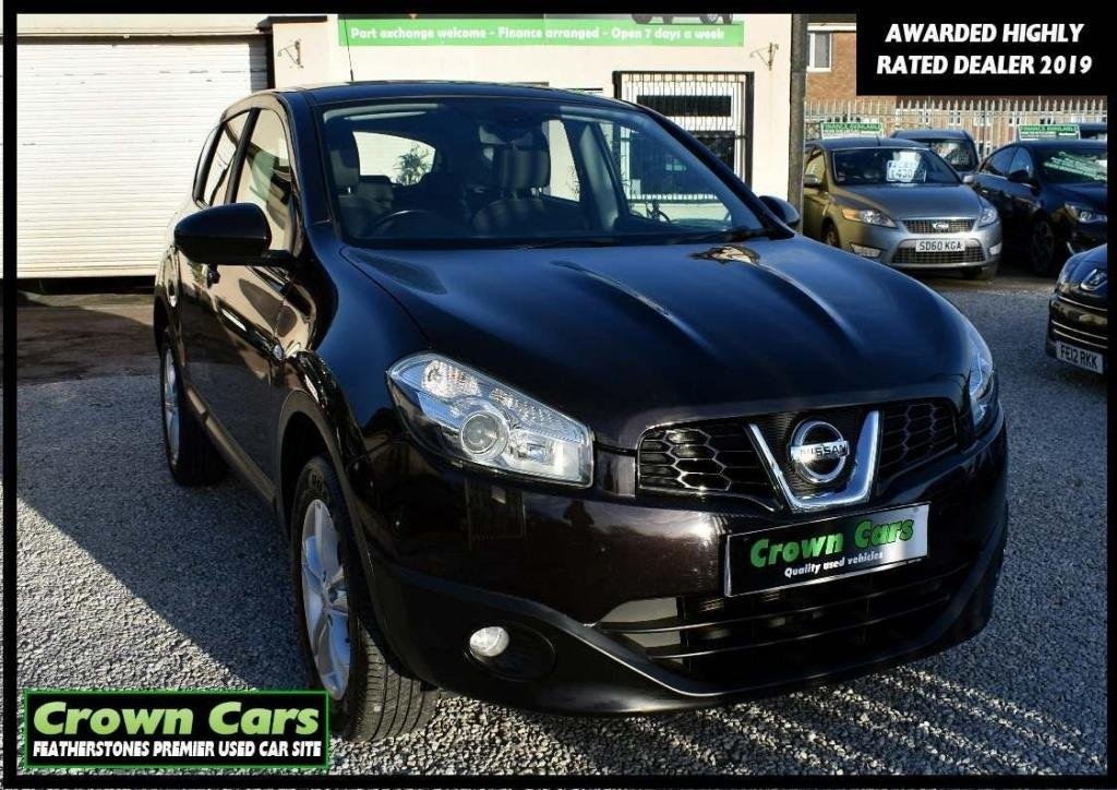USED 2013 53 NISSAN QASHQAI 1.6 Acenta 2WD 5dr RESERVE TODAY VIEW LATER