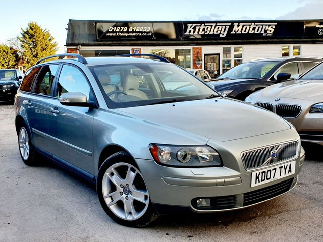 2007 07 VOLVO V50 2.0 D SE LEATHER