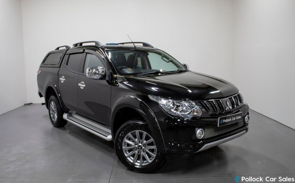 USED 2019 68 MITSUBISHI L200 BARBARIAN AUTO 178BHP CANOPY 3.5T TOWING 3.5T Towing, Canopy, Excellent condition