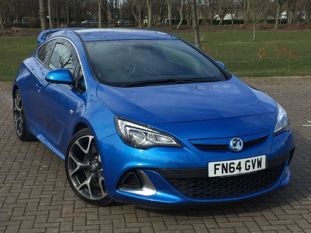 USED 2014 64 VAUXHALL ASTRA 2.0 VXR 3d 276 BHP