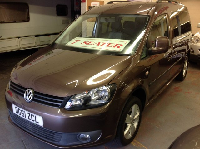 2011 61 VOLKSWAGEN CADDY MAXI LIFE 1.6 TDI  TECH 7 SEATER