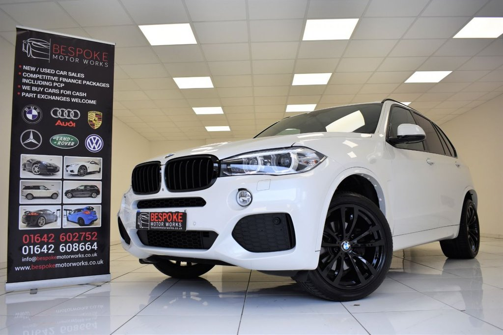USED 2014 14 BMW X5 XDRIVE30D M SPORT AUTOMATIC