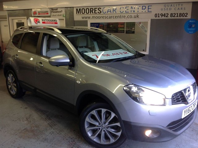 2012 62 NISSAN QASHQAI+2 1.6 DCI TEKNA IS 360 VIEW