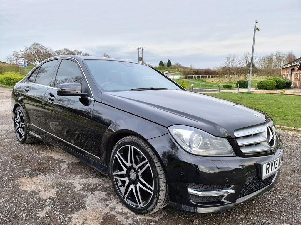 USED 2013 13 MERCEDES-BENZ C CLASS 2.1 C220 CDI BLUEEFFICIENCY AMG SPORT PLUS 4d 168 BHP