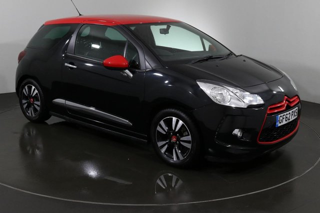 2013 62 CITROEN DS3 1.6 DSTYLE RED 3d 120 BHP ULEZ EXEMPT