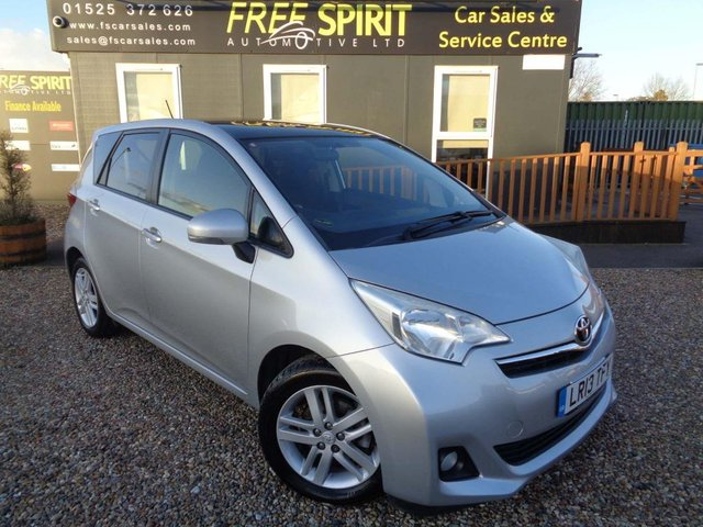 USED 2013 13 TOYOTA VERSO-S 1.33 T Spirit 5dr Pan roof, Bluetooth, R-Camera