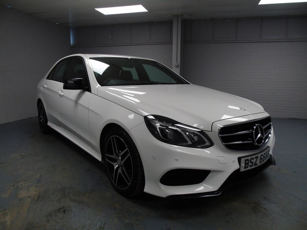 USED 2015 MERCEDES-BENZ E 220 2.2 AMG NIGHT ED £311 a month, T&C's apply.