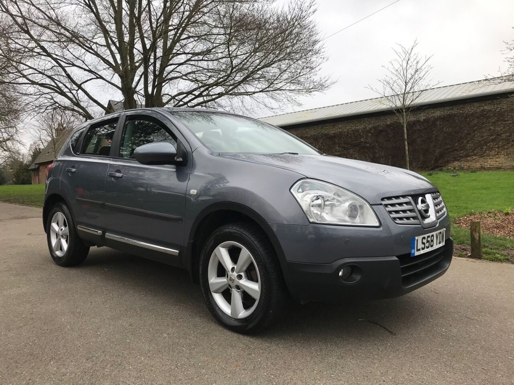 USED 2008 58 NISSAN QASHQAI 2.0 ACENTA 5d 140 BHP Outstanding Condition Throughout !