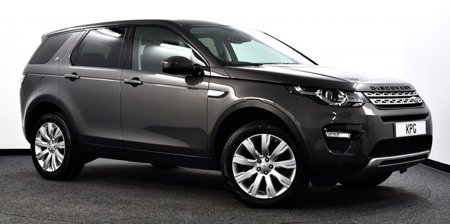 USED 2016 16 LAND ROVER DISCOVERY SPORT 2.0 TD4 HSE Auto 4WD (s/s) 5dr Pan Roof, Heated S/Wheel, Nav+