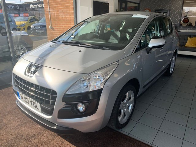 USED 2013 13 PEUGEOT 3008 1.6 E-HDI ACTIVE 5d 115 BHP **LOW MILEAGE AUTOMATIC**