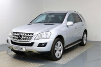 USED 2010 10 MERCEDES-BENZ M-CLASS 3.0 ML350 CDI BlueEFFICIENCY Sport 5dr **£2880 OPTIONAL EXTRAS!!**