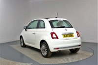 USED 2017 17 FIAT 500 1.2 8V Lounge (s/s) 3dr £725 opt EXTRAS, PAN ROOF