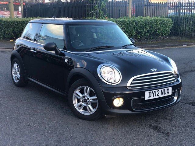 2012 12 MINI HATCH ONE 1.6 ONE D 3d 90 BHP